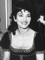 Maria Callas American-born Greek soprano