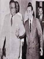 Iskander Mirza with Adnan Menderes