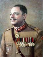Ayub Khan in Army uniform