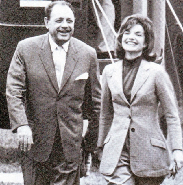 Ayub Khan with Jackie