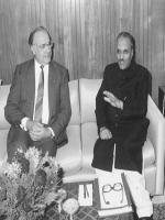 Muhammad Zia-ul-Haq with German Mission