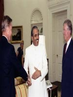 Muhammad Zia-ul-Haq  with United State Politicians