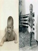 Barack Obama Childhood Pictures