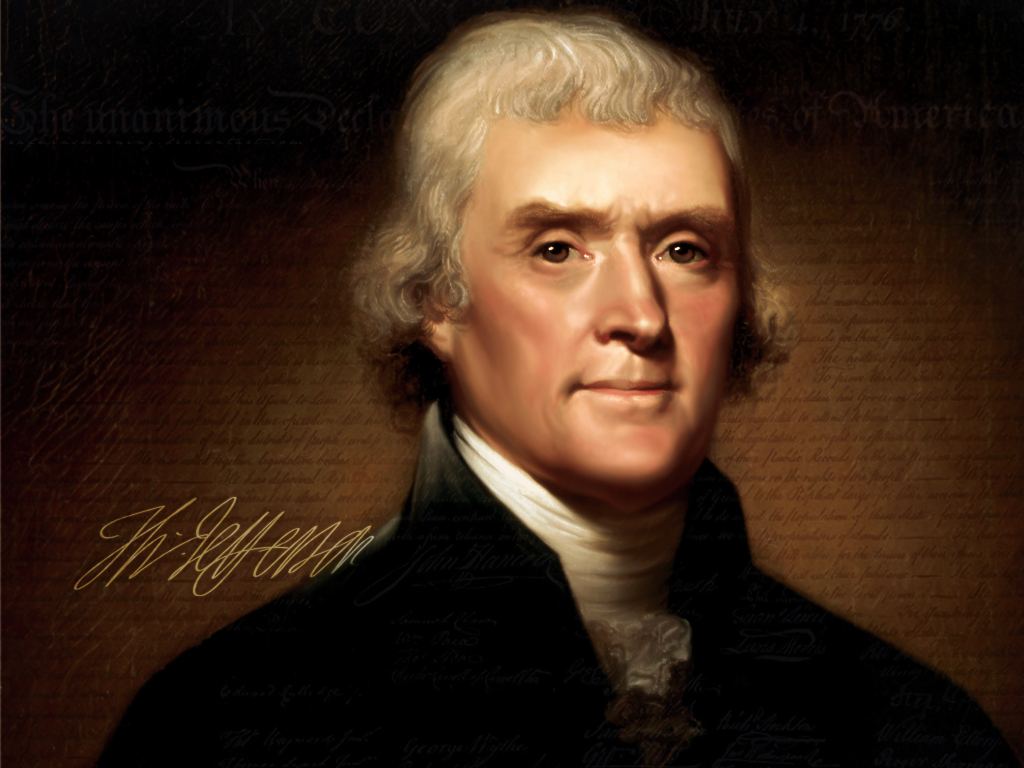 Thomas Jefferson Latest Photo