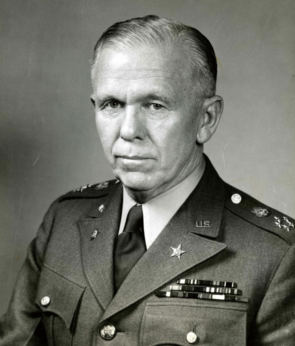 George C. Marshall Latest Photo