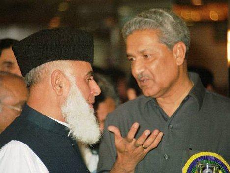 Muhammad Rafiq Tarar with Nuclear Scientist