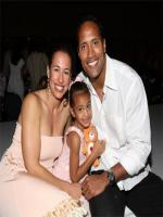 Dwayne The Rock Johnson with his Family