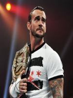 CM Punk while raciling
