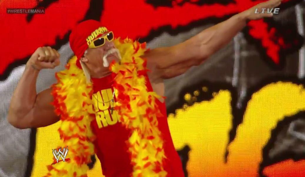 Hulk Hogan in Wrestlemania 2014