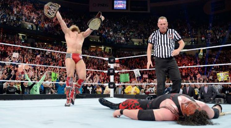 Daniel Bryan defeated Kane in an Extreme Rules match