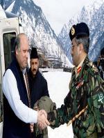 Pervez Musharraf meets with Nawaz Sharif