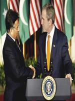 Pervez Musharraf with George Bush