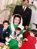 Asif Ali Zardari with Family