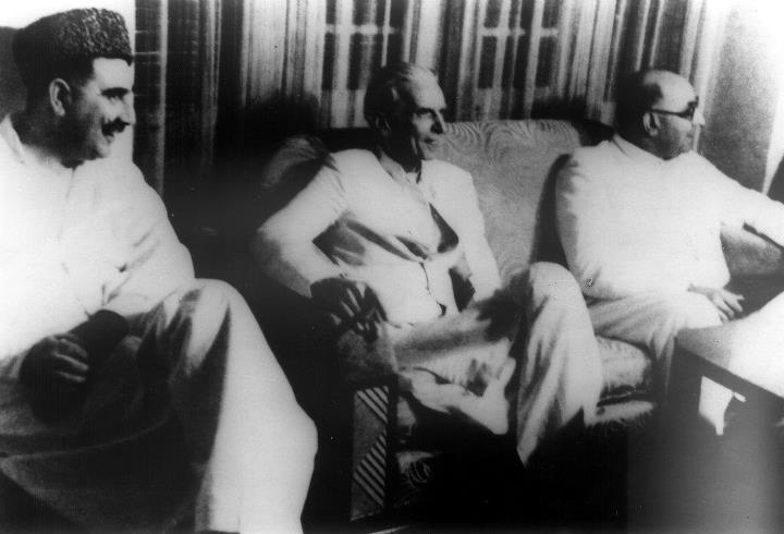 Liaquat Ali Khan and Mr.Jinnah