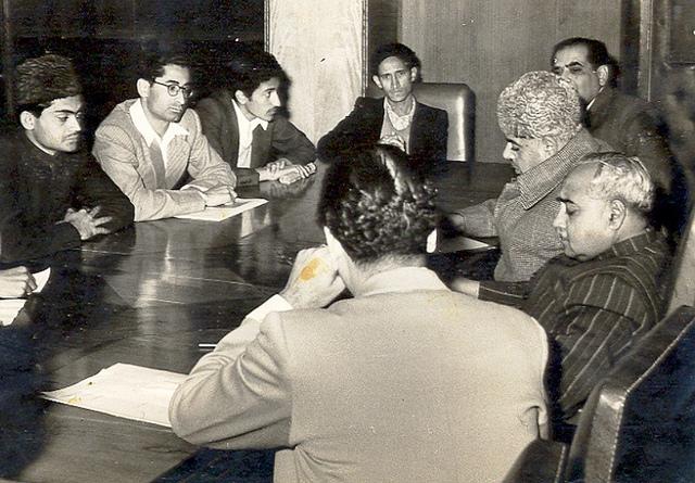 Khawaja Nazimuddin in confrence