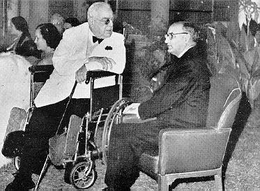 Chaudhry Muhammad Ali and Aga Khan