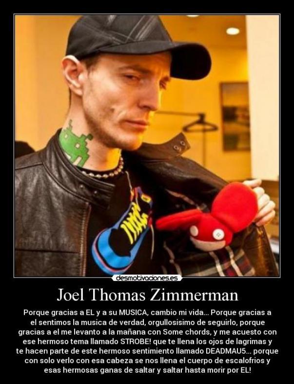 Joel Thomas Zimmerman Latest Photo