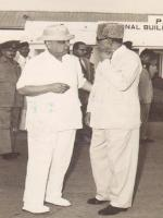 Feroz Khan Noon and Mr.Iskandar Mirza