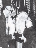 Nurul Amin Reciving Award
