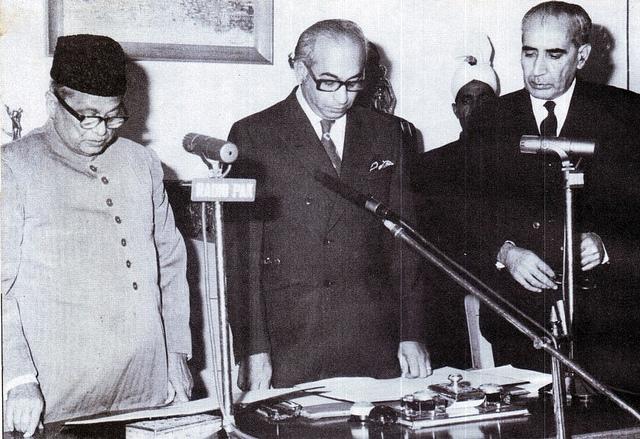 Mr Nurul Amin takes oath