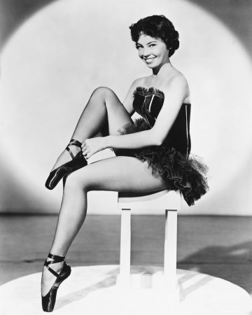 Leslie Caron French Film Actress