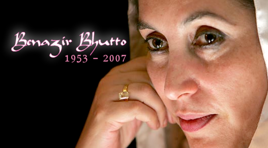 Late Benazir Bhutto