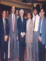 Ghulam Mustafa Jatoi and other leaders