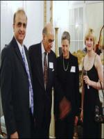 Moin Qureshi and Dean of John Hopkins University Ms. Jessica Einhorn