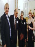 Moin Qureshi and Dean of John Hopkins University Ms. Jessica Einhorn