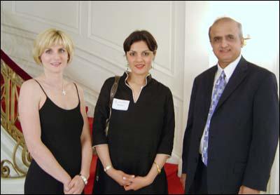 With Daughter of Pakistan Ambassador Maha