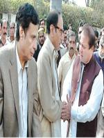 Chaudhry Shujaat Hussain Meet with Nawaz Sharif