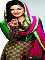 Sunny Leone in Indian dress