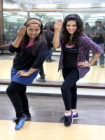 Sunny Leone rehearsing with Choreographer Sabina Khan