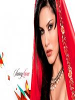 Sunny Leone in Red Dress