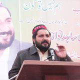 Mr Sajid Nawaz durring speech