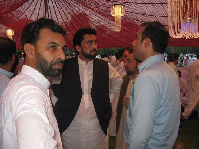 Shehryar Afridi in a PTI party