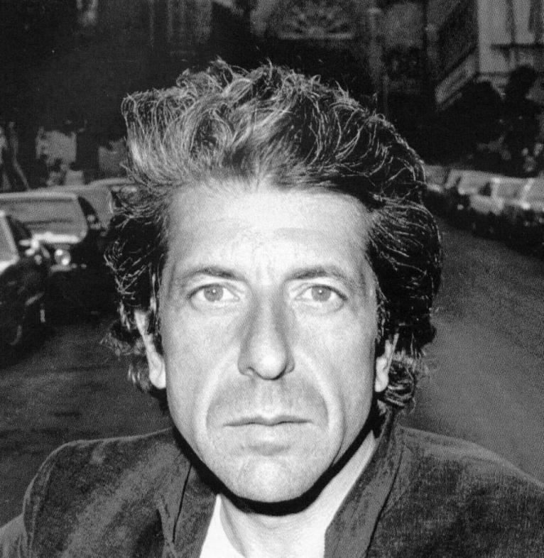 Leonard Cohen Latest Photo