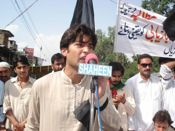 Murad Saeed in Election 2013