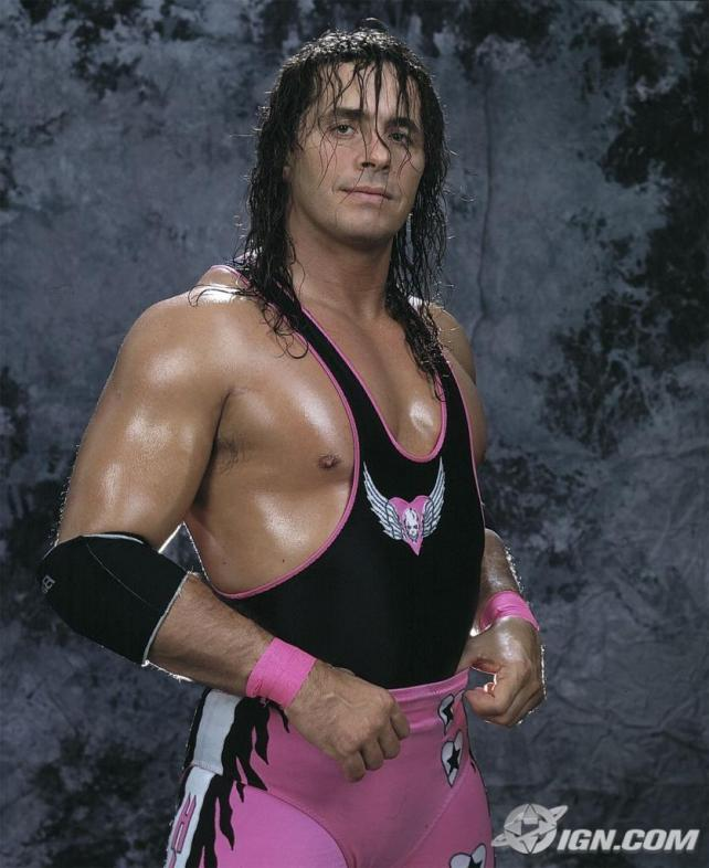 Bret Hart Latest Wallpaper