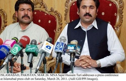 Sajid Hussain Turi in press confrence