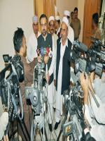 Alhaj Shah Jee Gul Afridi answer to media