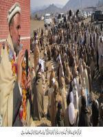 Alhaj Shah Jee Gul Afridi durring election