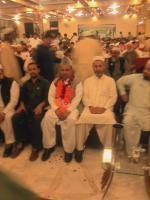 Alhaj Shah Jee Gul Afridi with party members