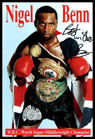 Nigel Benn HD Wallpapers