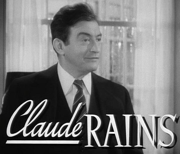 Claude Rains Latest Photo