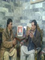 Raja Muhammad Javed Ikhlas with Raja Javeed Ikhlas
