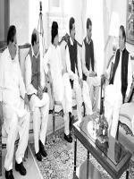 Raja Muhammad Javed Ikhlas With PM