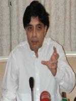 Ch Nisar Ali Khan with media