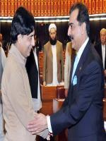 Ch Nisar Ali Khan meets with Yousaf Raza Gillani