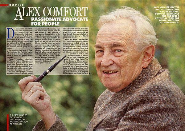 Dr. Alex Comfort Latest Wallpaper